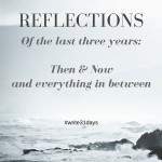 Reflections: Then & Now and everything in between